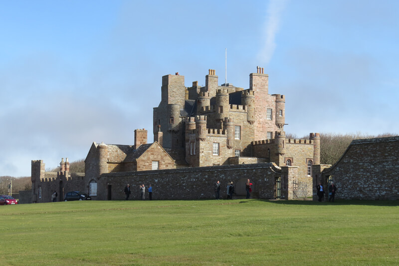 Castle of Mey by Iain Mclaren
