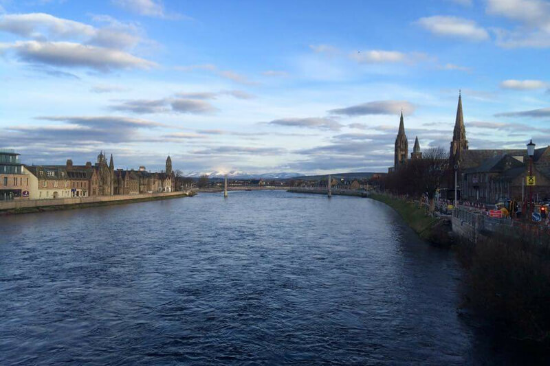 Iverness and the River Ness by Hannah Watts