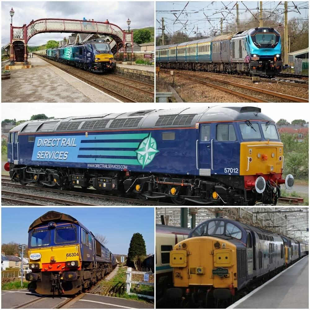 DRS locos class 37, 57, 66, 68 & 88