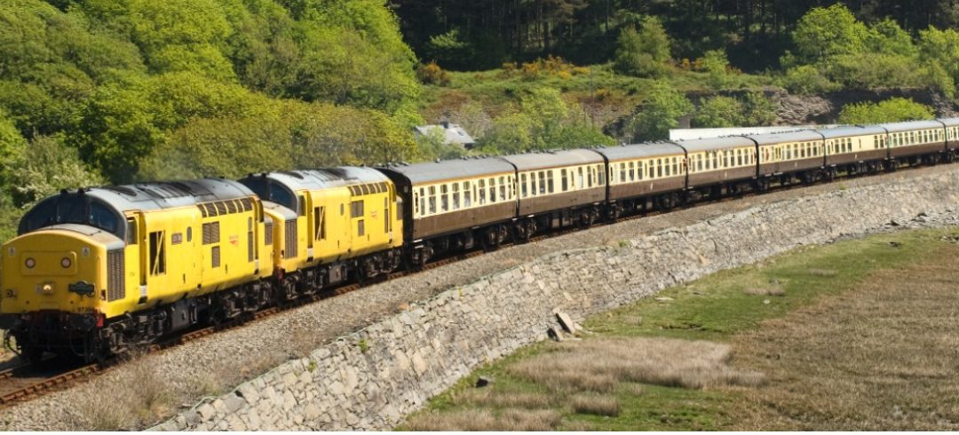 The Cumbrian Freighter & The Cambrian Coast Express